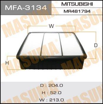 Фильтр воздушный Masuma MFA3134MFA3134
