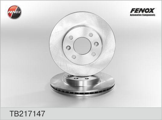 Диск тормозной Fenox TB217147 комплект 2 штTB217147