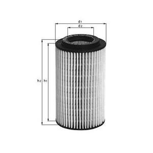 Фильтр масляный Mahle/Knecht OX153D1OX153D1