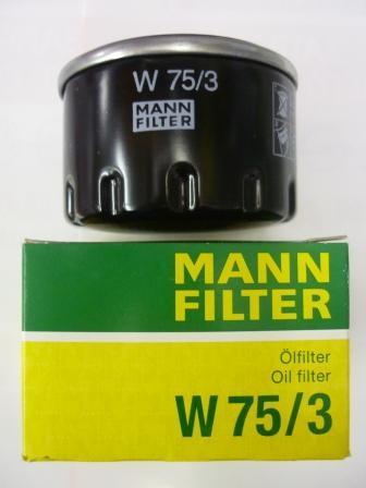 Масляный фильтрMann-Filter W753W753