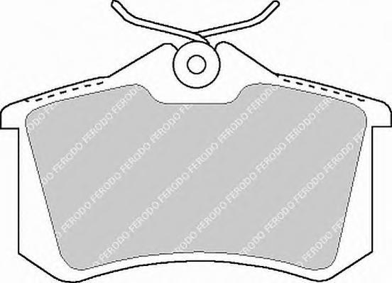 Колодки тормозные дисковые Premier Ferodo FDB1083FDB1083