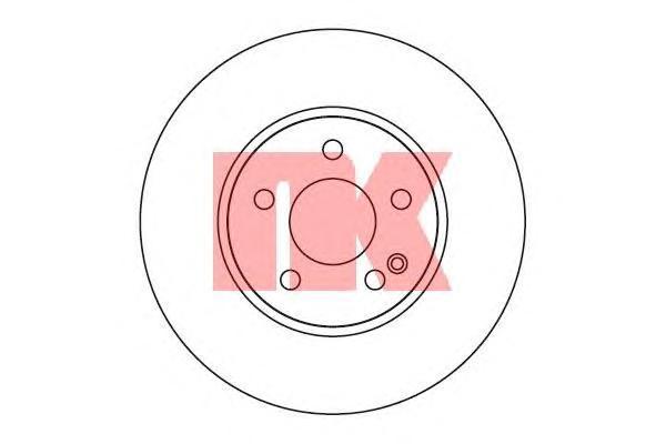Диск тормозной NK 203375 комплект 2 шт203375