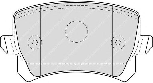 Колодки тормозные дисковые Premier Ferodo FDB4192FDB4192