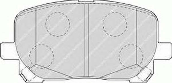 Колодки тормозные дисковые Premier Ferodo FDB1529FDB1529