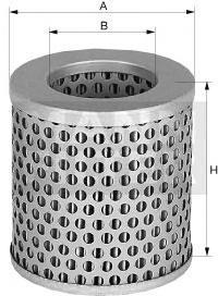 Фильтр воздушный Mann-Filter C75C75