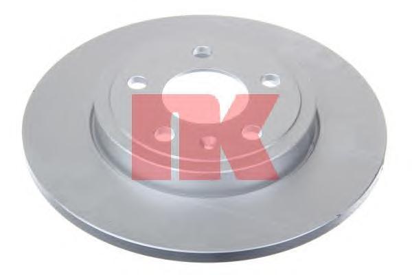 Диск тормозной NK 2047111 комплект 2 шт2047111