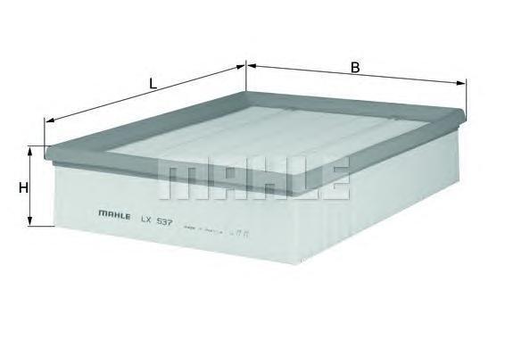 Фильтр воздушный Mahle/Knecht LX537LX537