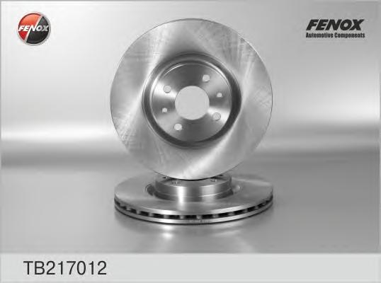 Fenox Диск тормозной. TB217012TB217012