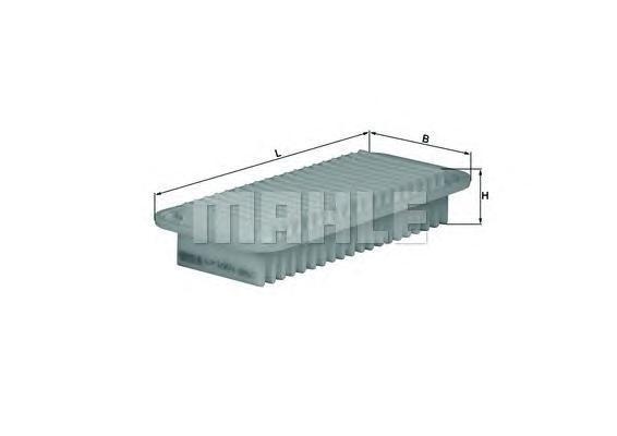 Фильтр воздушный Mahle/Knecht LX1001LX1001