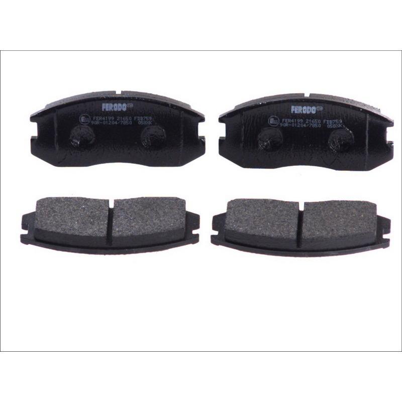 Колодки тормозные дисковые Premier Ferodo FDB759FDB759