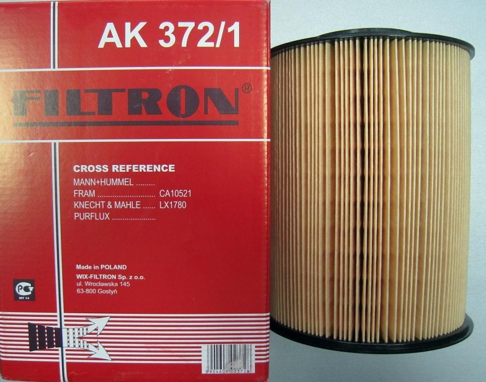 Фильтр воздушный Filtron. AK3721AK3721