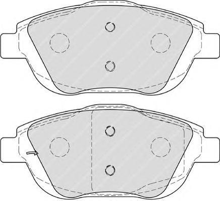 Колодки тормозные дисковые Premier Ferodo FDB4288FDB4288