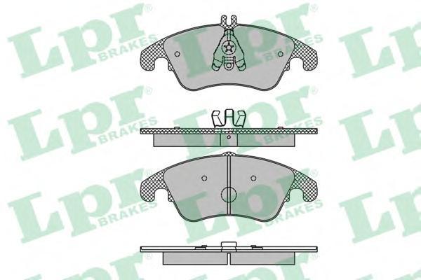 Колодки тормозные передние LPR / AP 05P142105P1421