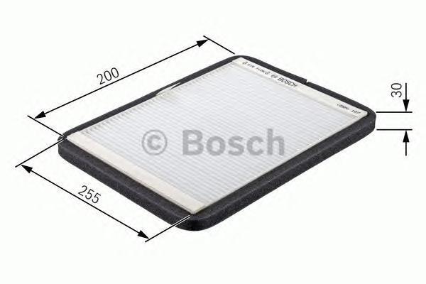 Фильтр салона (угольный) Bosch 19874323541987432354