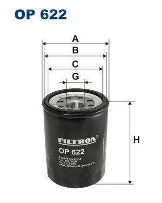 Фильтр масляный Filtron OP622OP622