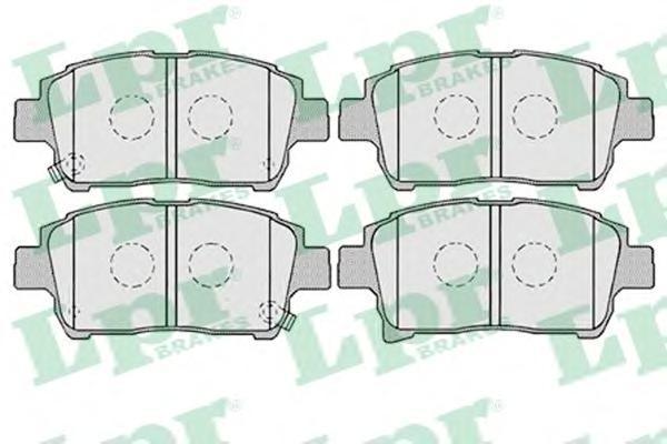 Колодки тормозные передние LPR / AP 05P100305P1003