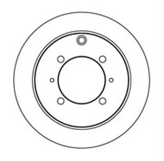 Диск тормозной NK 203024 комплект 2 шт203024