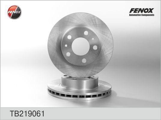 Диск тормозной Fenox TB219061TB219061