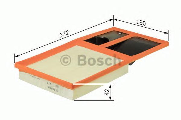 Фильтр воздушный Bosch F026400035F026400035