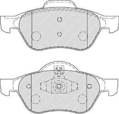 Колодки тормозные дисковые Premier Ferodo FDB1866FDB1866