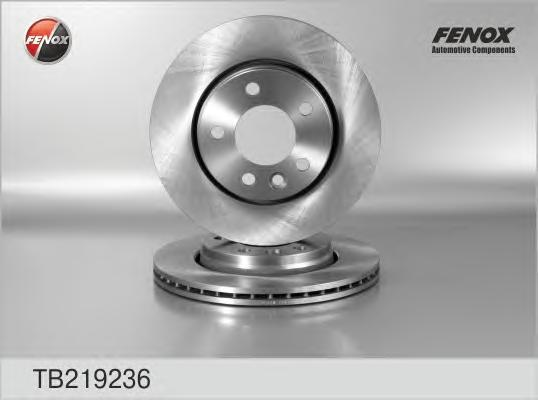 Диск тормозной Fenox TB219236 комплект 2 штTB219236