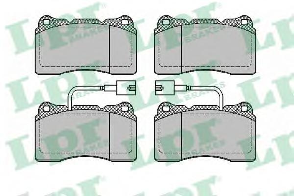 Колодки тормозные передние LPR / AP 05P139305P1393
