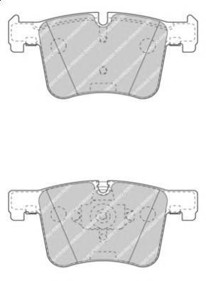 Колодки тормозные дисковые Premier Ferodo FDB4394FDB4394