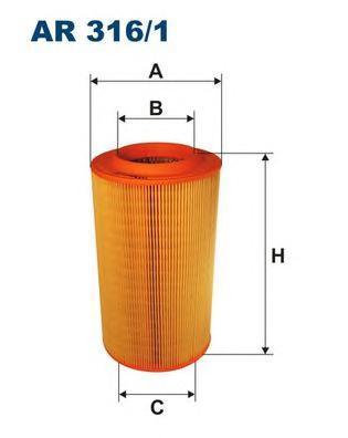 Фильтр воздушный Filtron AR3161AR3161