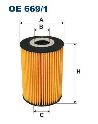 Фильтр масляный Filtron OE6691OE6691