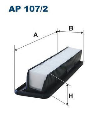 Фильтр воздушный Filtron AP1072AP1072