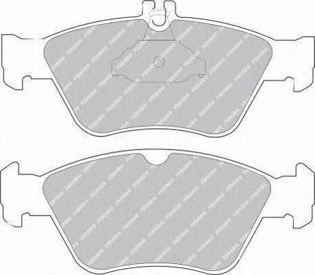 Колодки тормозные дисковые Premier Ferodo FDB1049FDB1049