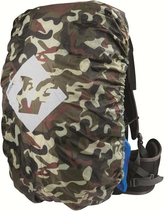 Накидка на рюкзак Red Fox Rain Cover, цвет: камуфляж, 30 л81-531-2300Накидка предназначена для защиты рюкзака от дождя и грязи.- назначение: туризм, экспедиции- материал: Polyester 190T, PU3000- объем, л: 30