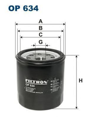 Фильтр масляный Filtron OP634OP634