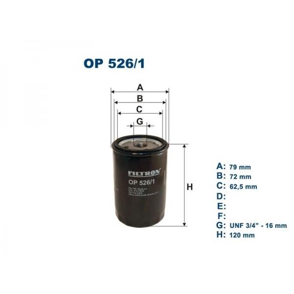 Фильтр масляный Filtron OP5261OP5261