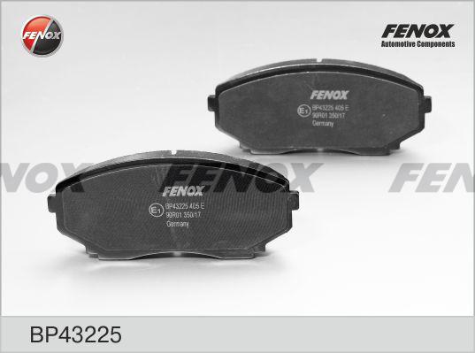 Колодки тормозные дисковые Fenox BP43225BP43225