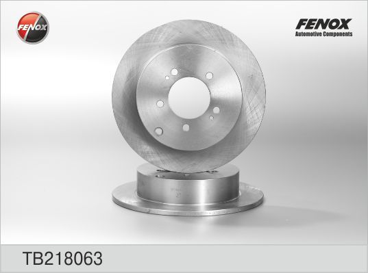 Диск тормозной Fenox TB218063TB218063