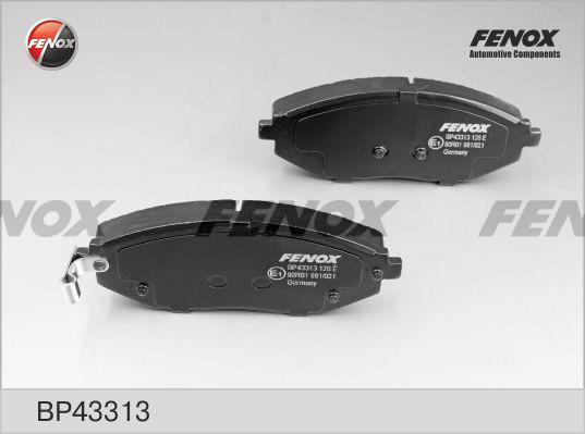 Колодки тормозные дисковые Fenox BP43313BP43313