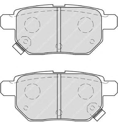 Колодки тормозные дисковые Premier Ferodo FDB4042FDB4042
