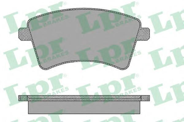 Колодки тормозные передние LPR / AP 05P146505P1465