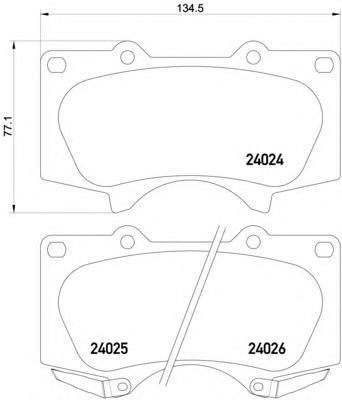 Колодки тормозные дисковые, комплект BEHR-HELLA 8DB3550104918DB355010491