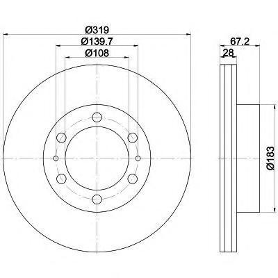 Диск тормозной Textar 92230403 комплект 2 шт92230403
