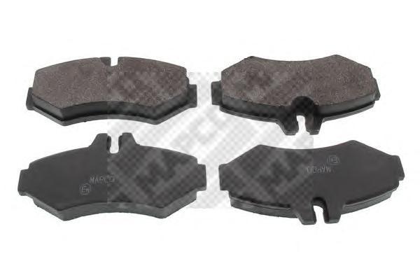 Колодки тормозные задние Mapco 60406040