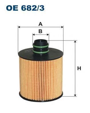 Фильтр масляный Filtron OE6823OE6823