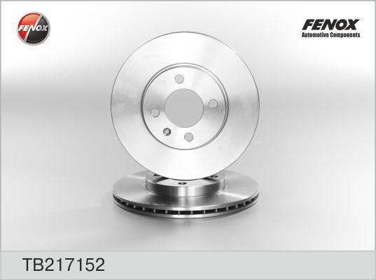 Диск тормозной Fenox TB217152 комплект 2 штTB217152