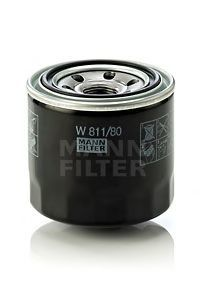 Масляный фильтрMann-Filter W81180W81180