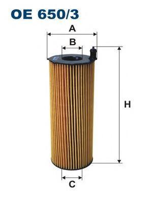 Фильтр масляный Filtron OE6503OE6503