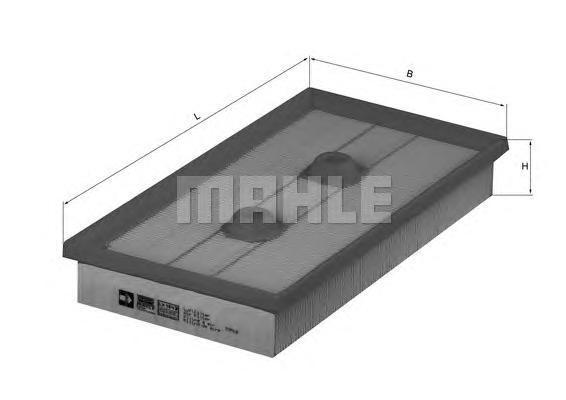 Фильтр воздушный Mahle/Knecht LX1643LX1643