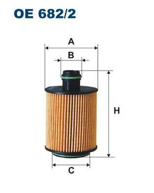 Фильтр масляный Filtron OE6822OE6822