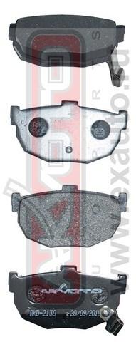 Колодки тормозные дисковые задние AKYOTO AKD2130AKD2130
