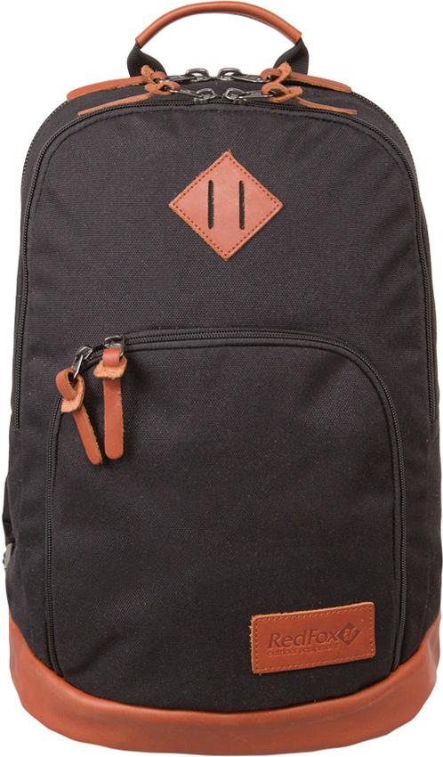 Рюкзак Red Fox Dark Night, цвет: черный, 30 л1046731Dark Night 30 - стильный городской рюкзак с кожаной отделкой.- износостойкая ткань- три отделения разного объема- кожаная отделка дна рюкзака обеспечивает надежность и придает стильный вид- мягкая спинка рюкзака- комфортные плечевые лямки с удобной регулировкой- пуллеры молний с кожаными язычками- Назначение: повседневное городское использование- Материал: 6AP Oxford- Объем, л: 30